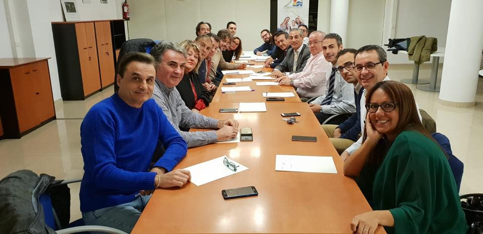 En las instalaciones de Oscar de Alfa Castalia en Castellón