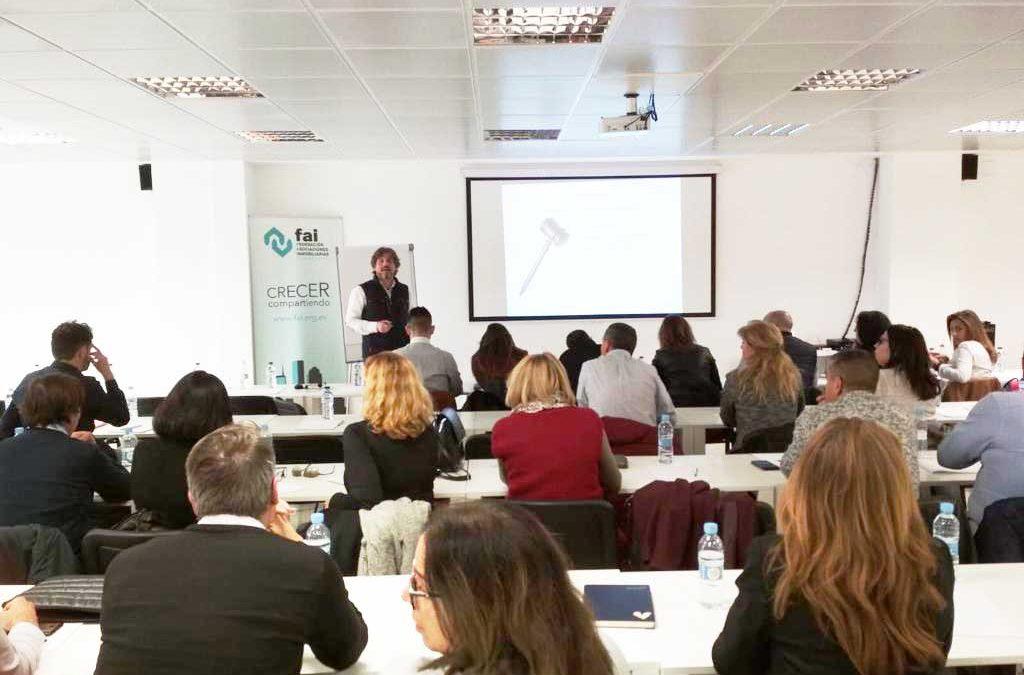 Joaquín Estañol Agente Inmobiliario imparte un nuevo curso de Protocolo en ASICVAL